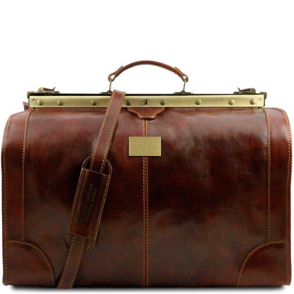 Gladstone Leather Bag - Large Size - Madrid