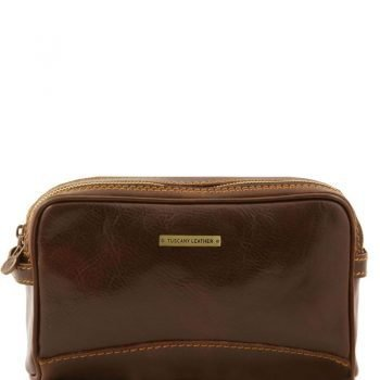 IGOR Leather toilet bag