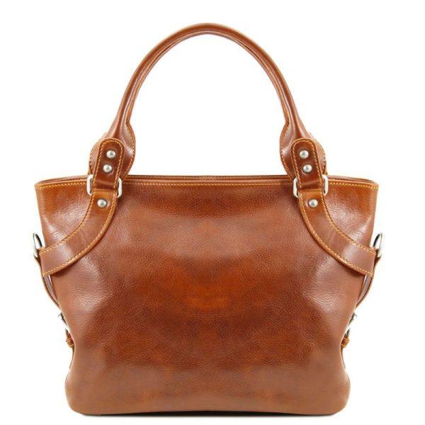 ILENIA Leather shoulder bag