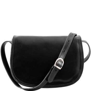 Lady Leather Bag - Isabella - Black