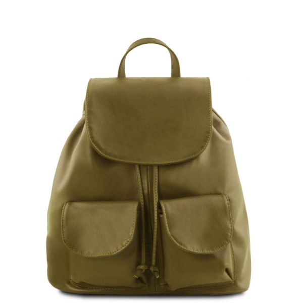 Leather Backpack - Small Size - Seoul