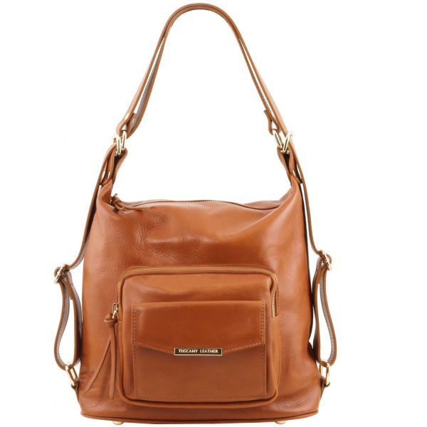 Leather Convertible Bag - Sydney