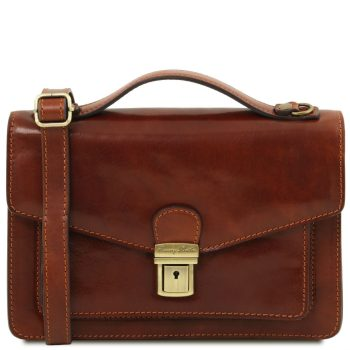Leather Crossbody Bag - Eric