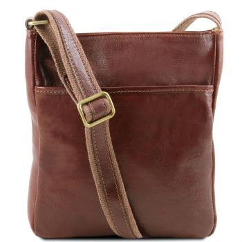 Leather Crossbody Bag - Jason