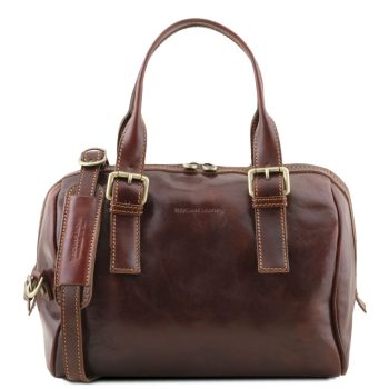 Leather Duffle Bag - Eveline