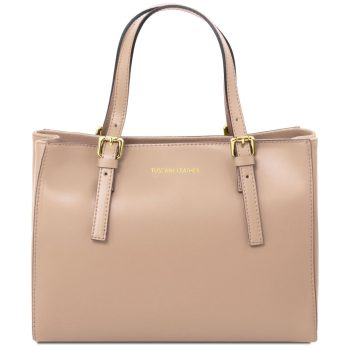 Leather Handbag - Aura
