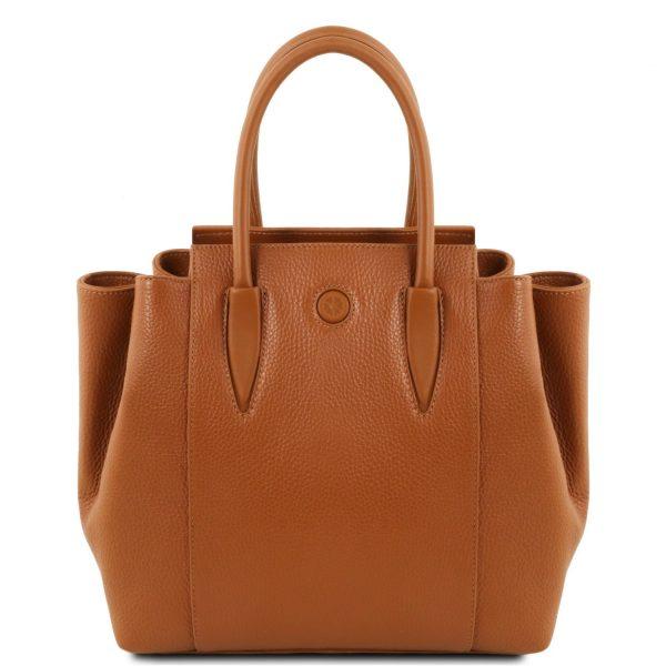 Leather Handbag - Tulipan