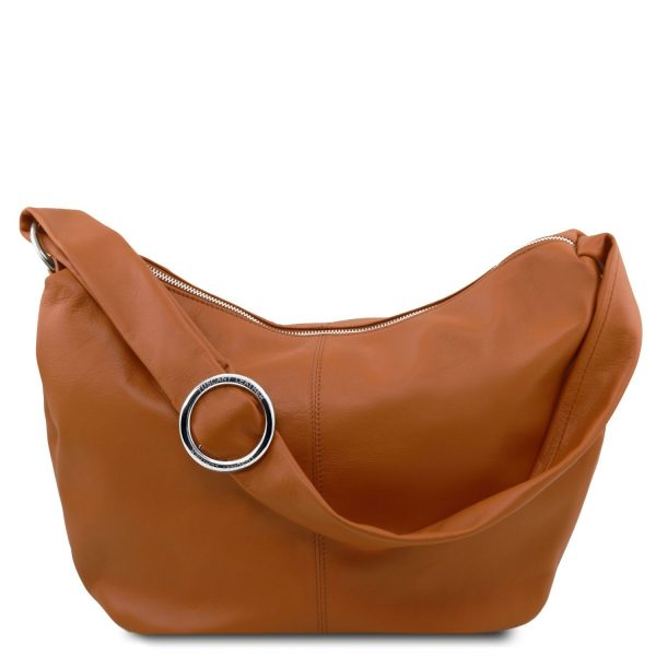 Leather Hobo Bag - Yvette