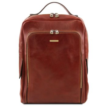 Leather Laptop Backpack - Bangkok