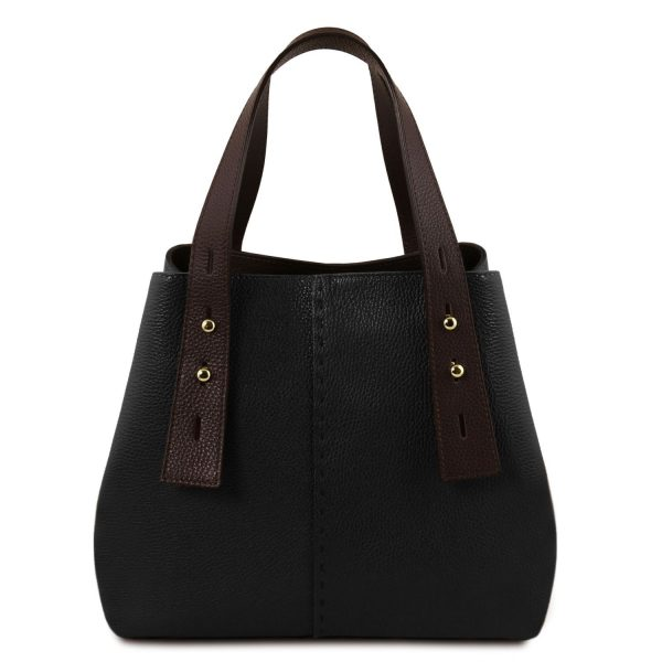 Leather Shopping Bag - Candeau