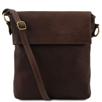 Leather Shoulder Bag - Morgan