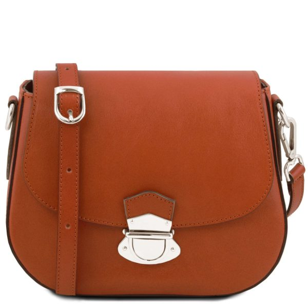 Leather Shoulder Bag - Neoclassic Lady