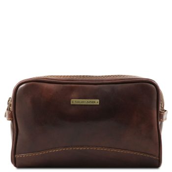 Leather Toiletry Bag - Igor