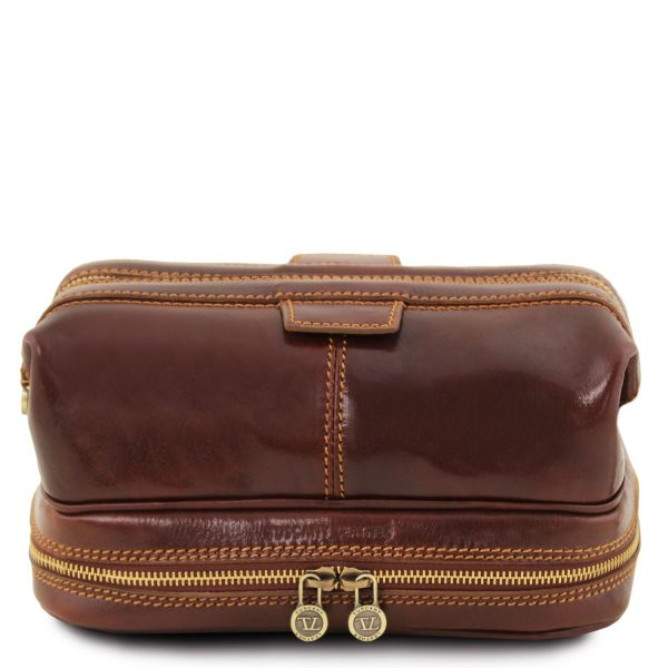Leather Toiletry Bag - Patrick