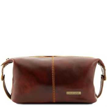 Leather Toiletry Bag - Roxy