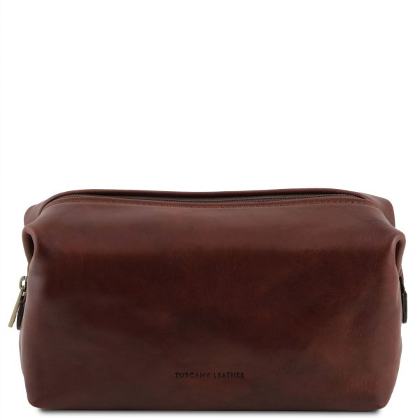Leather Toiletry Bag - Small Size - Smarty