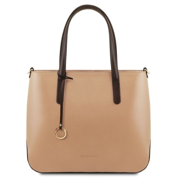 Leather Tote Bag for Women - Penelope