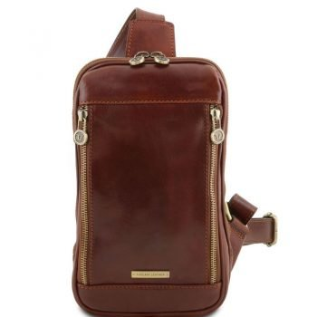 MARTIN Leather crossover bag