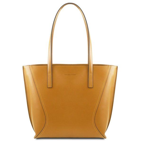 Nemesi Leather Shopping Bag