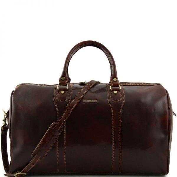 OSLO Travel leather duffle bag - Weekender bag