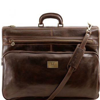 PAPEETE Garment leather bag