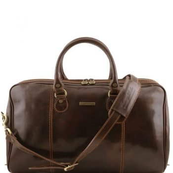 PARIS Travel leather duffle bag