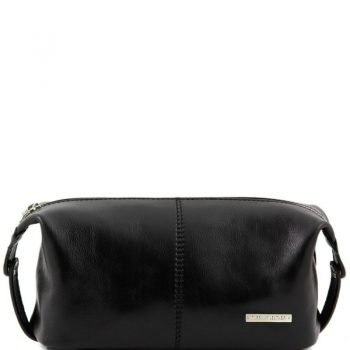ROXY Leather toilet bag