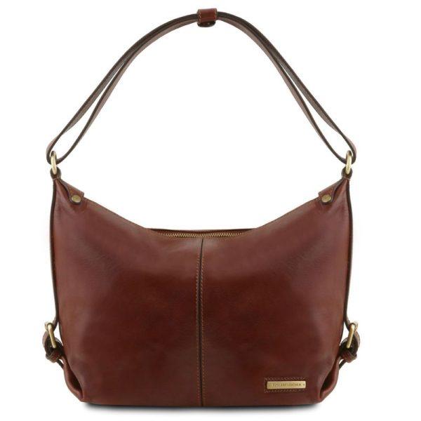SABRINA Leather hobo bag