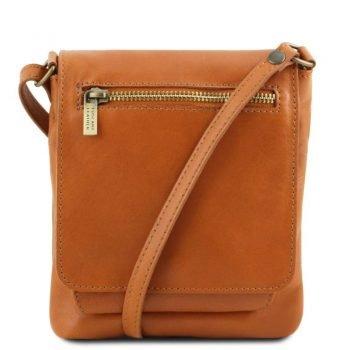 SASHA Unisex soft leather shoulder bag