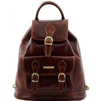 SINGAPORE Leather - Backpack