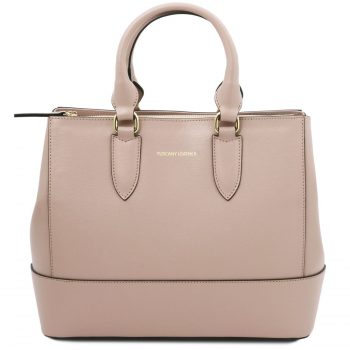 Saffiano Leather Handbag - Maya