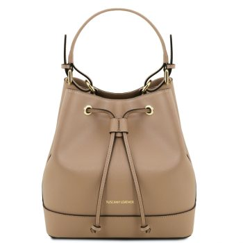 Saffiano Leather Secchiello Bag - Minerva