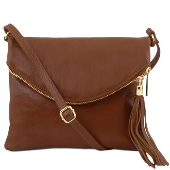 Shoulder Bag with Tassel Detail - Young