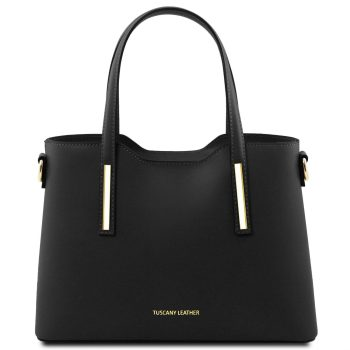 Small Leather Tote Bag - Olimpia