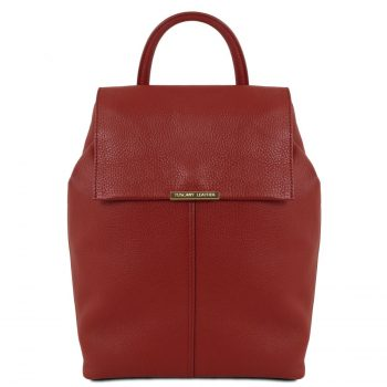 Soft Leather Backpack for Women - Dronero