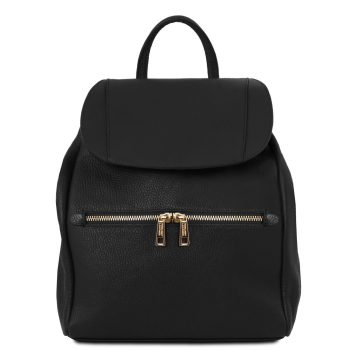Soft Leather Backpack for Women - Suzette