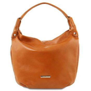Soft Leather Hobo Bag - Niort