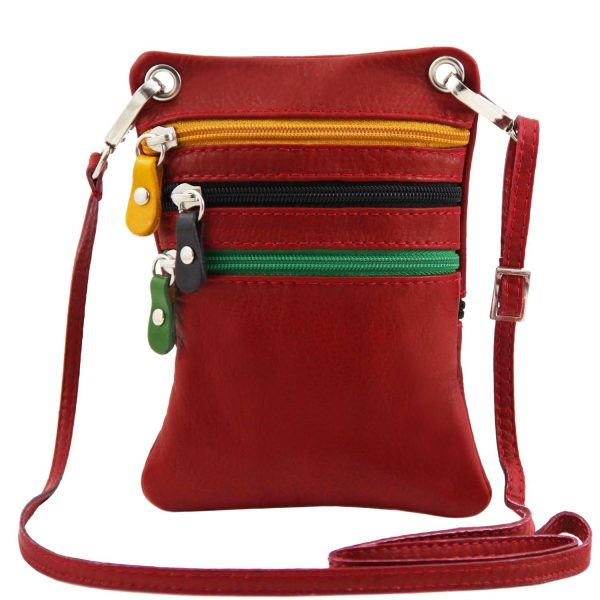 Soft Leather Mini Cross Bag - Alixan