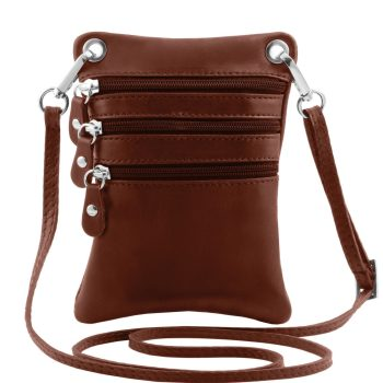Soft Leather Mini Cross Bag - Charpey