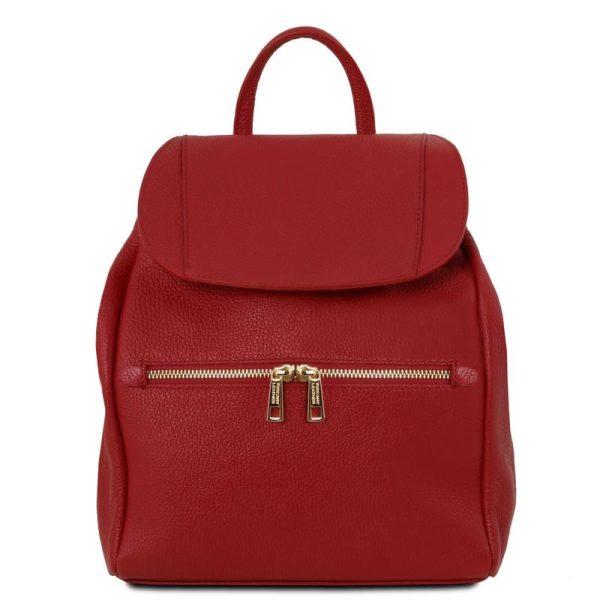 TL BAG Soft leather backpack for women