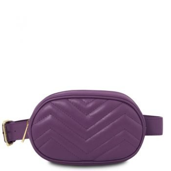 TL BAG Soft leather fanny pack