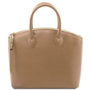 TL KEYLUCK Saffiano leather tote - Small size