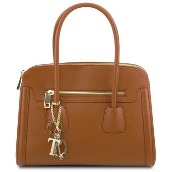 TL KEYLUCK Soft leather handbag