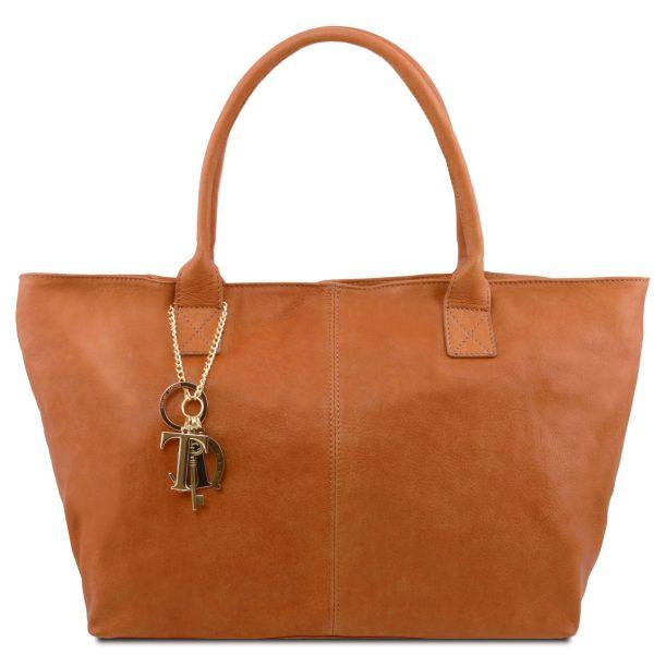 TL Keyluck Leather Shoulder Bag