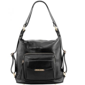 TL Leather Convertible Bag