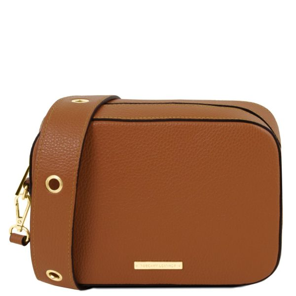 TL Leather Shoulder Bag
