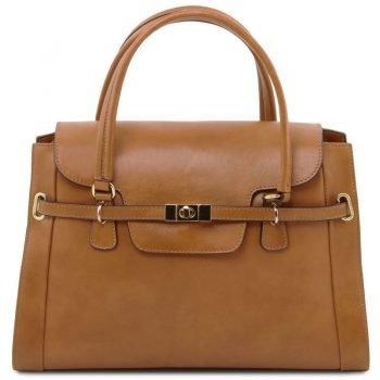 TL NEOCLASSIC Lady leather handbag with twist lock