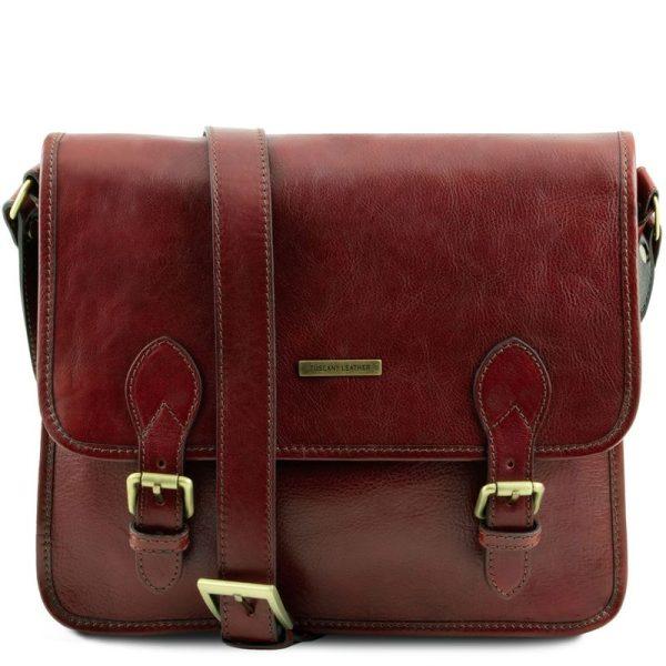 TL POSTMAN Leather messenger bag