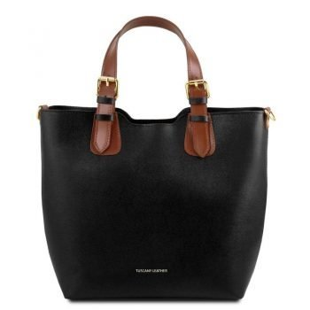 TL Saffiano Leather Handbag