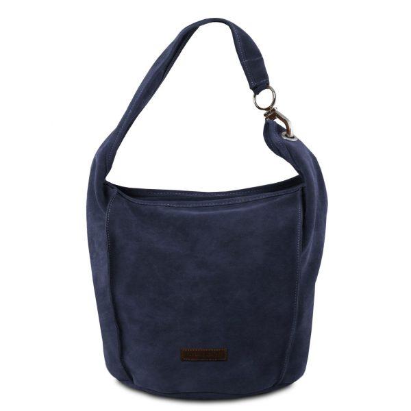TL Suede Leather Shoulder Bag